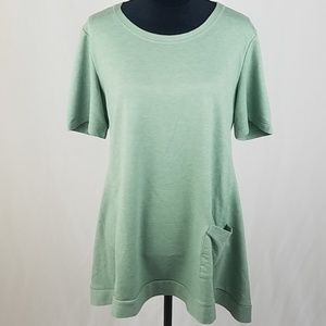 LOGO Lounge by Lori Goldstein | French Terry Tunic